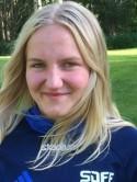 Nora Elfving gjorde sitt första seniormål.