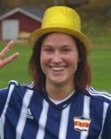 Jenny Nordenberg - fem mål mot Alnö och seriens skyttedrottning.