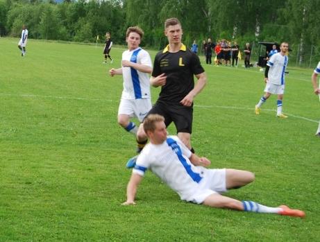 Förra gången det var derby på Ljungalid mot Torpshammar var 2015 och då blev det seger för Oskar Nordlunds Ljunga. Hur går det i afton? Foto: Lokalfotbollen.nu.