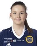 Ellinor Johansson gjorde årets sista SDFF-mål när hon satte ledningsmålet mot Umeå.