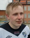 Mårten Gräntz svarade för ännu en stark insats i den vita IFK-tröjam.