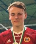 Elias Friberg byter från rött till grönt.
