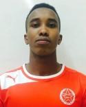 Abdirizak Mukhtar gjorde tre mål på en halvtimme för Svartvik 2.
