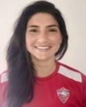 Anisa Guajardo gjorde hälften av SDFF:s mål i snöbollsmatchen.