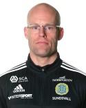 Joel Cedergren siktar på en bra försvarsinsats för sitt GIF Sundsvall.