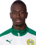 Förre GIF-spelaren Pa Dibba svarade för ett drömmål när Hammarby tog fjärde raka segern.