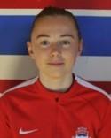 Blott 14-åriga Linn Gradin gjorde ännu en bra insats i Stödetröjam trots förlusten.