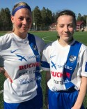 Matilda Svensson och Fionida Rexhaj svarade för Timrås mål.