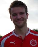 Kraftfulle Oscar Lidström har efter kvällens två mål nått tvåsiffrigt under sin första div 3-säsong.