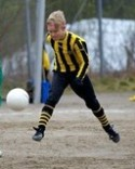 Pontus Lundqvist prickade in Kubens båda mål i seriefinalen på Myggvallen.