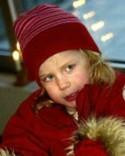 På bilden fyra år. Elva år senare gjorde Hanna Rönngren hattrick när Njurunda vann över Matfors.