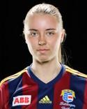 Emelie Norberg gjorde en storstilad insats i Selånges mittförsvar förlusten till trots.