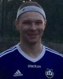 William Dalenius gjorde sin första match som målvakt och kvitterade efter en hörna på stopptid.