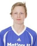 Oskar Nilsson Böös stpd för två mål och ett assist.