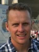 54-årige Martin Hultin skruvade läckert in 2-0-målet.