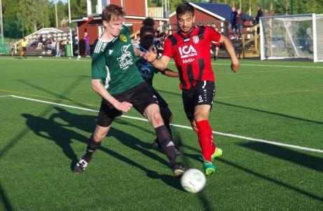 Söråker var steget före Sidsjö-Böle uppe på Lötas konstgräs under fredagen och vann med klara 4-0. Foto: Janne Pehrsson, Lokalfotbollen.nu.