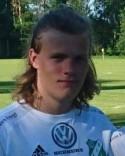 Tobias Engström satte Ånges ledningsmål i början av andra halvlek.