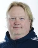 Hade ingen bild på matchvinnaren Isac Tjernström så det blev en på stolte tränaren Tomas Jonsson istället.
