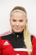Emmie Björklund gjorde ett mål och spelade fram till ett.