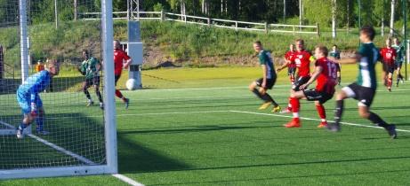 Sidsjö-Böle en tåspets från 0-1.