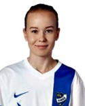 Tova Olsson gav Timrå lite hopp när hon reducerade till 2-1.