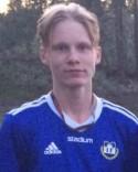 Oscar Nilsson-Böös gjorde sitt första mål i Matfors A-lag.