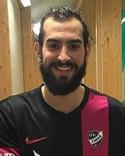 Ahmad Khreis prickade in Sunds båda fullträffar mot Stöde.