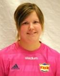 Sandra Sjögren höll nollan i 120 minuter mot div 1-laget Östersund. Det krävdes straffar för att få hål på den storspelande hemmakeepern.