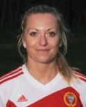 Emelie Birgersson gjorde inga mål men var planens bäste spelare.