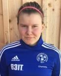 Charlotte Eriksson satte 2-1-målet när Heffners-klubban 2 vände mot Matfors.