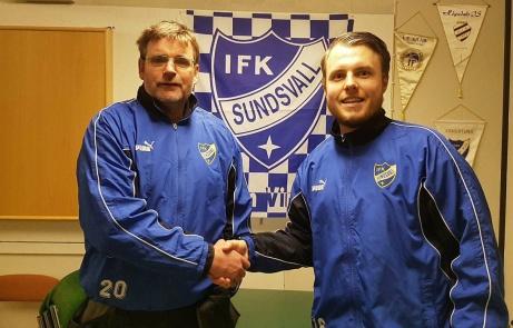 Tommy Hedin och Jesper Hellström skall tillsammans försöka vända IFK-skutam på rätt köl. Tommy som huvudträmare och Jesper som spelande assisterande tränare.