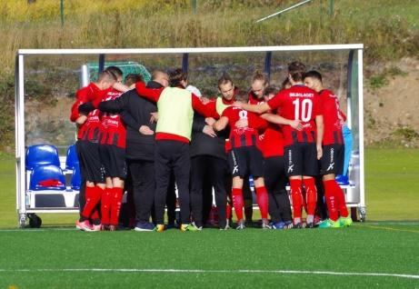 Söråkers FF laddar om för kvalspel. Foto: Pia Skogman, Lokalfotbollen.nu.