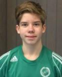 17-årige Filip Svensson satte sitt första A-lagsmål.