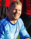 Mikael Gustafsson var en av få Söråkerspelare som nådde normal standard och höll också nollan.