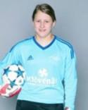 16-åriga Nellie Wallner debuterade i Elitettan under söndagen.