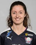 Verena Rexhi stod för tva av SDFF:s mål när Umeå slogs tillbaka i avslutningsmatchen.