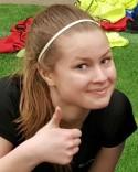 Först uttagen till Lokalfotbollens All Star Team för Damtrean och sedan värvad till Selånger för Sundsvalls FF:s Lina Edberg.