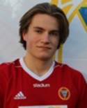 Philip Pallin gjorde Alnös båda mål fram till 2-0.