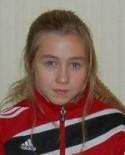 Zoe Tomley gjorde 15 matcher och på dom sex mål.