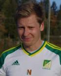 Jimmie Nordberg, spelande tränare hos seriesegrarna Lucksta IF.