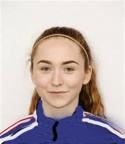 Den unga vänsterfotade mittbacken Alexandra Karjel blev Kovlands första nyförvärv efter uppflyttningen till div 2.