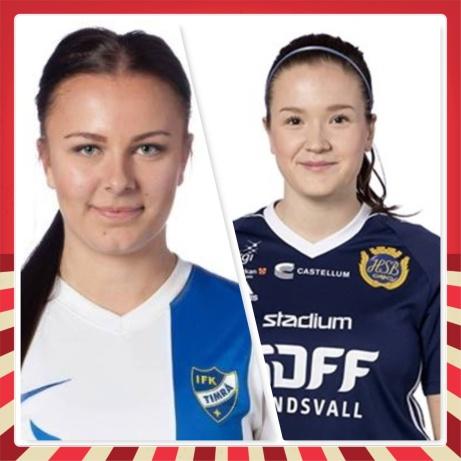 Mikaela Jensen från IFK Timrå och Amanda Hamrin från Sundsvalls DFF är senaste Selångerförvärven.