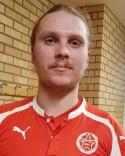 Förre Timråsplaren Stefan Grönlund gjorde en bra match mot sitt gamla lag som mittback.