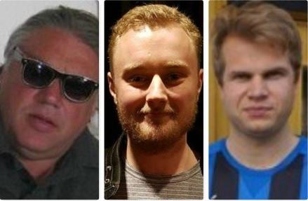 """""""Bollplanket"""" Torbjörn Persson fortsätter i Stöde IF tillsammans med dom två senaste nyförvärven Felix Häggström (Svartviks IF) och Anders Boman (Ljunga/Fränsta)."""