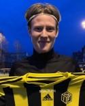 Matchhjälten Eddie Åhman, två mål och ett ass.