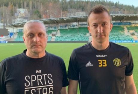 Dick Svedin och Haris Devic delar på tränarjobbet i jubilerande 100-åringen Kuben efter att Åke Andersson entledigats från uppdraget.