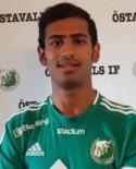 Ebrahim Tajik reducerade för Östavall på stopptid.