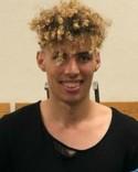 Reda Fakhiri gjorde fyra av Norr Uniteds sju mål - och blev inte utvisad.