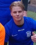 William Persson satte ett mål i vardera halvleken för Sundsvalls FF.
