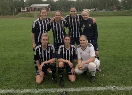 Kovlands målgörare i 10-0-segern över Alnö plus keepern Emelie Bergh.